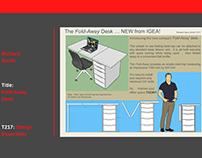 The Foldaway Desk