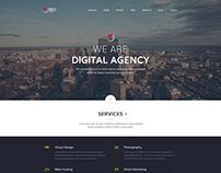 Red Leaf – Portfolio Agency Template