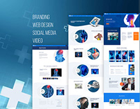 Doctor / Surgeon / Medical Website / UI / Video