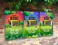 Barefoot In The Grass. Summer Festival Branding