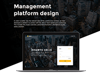 Management platform design V2.0