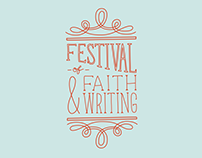 Event graphics / 2014 Festival of Faith & Writing