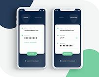 Login UI Minimal Design