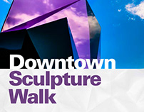 LCC Downtown Sculpture Walk Brochure