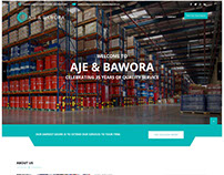 Aje & Bawora - Responsive Web (Database-Driven)Design
