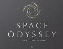 Space Odyssey Logo Collection By Michael Rayback Design