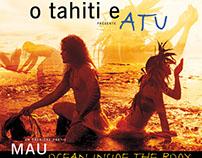 Atu – Poster for a Tahitian dance show