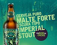 Malte-se Brutown Beer