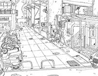 細縫之間 Space in Street