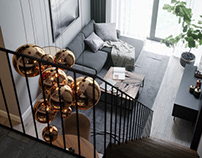 Apartment in gray
