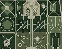 Versailles Vector Plan