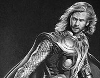 """Chris Hemsworth como """"Thor"""""""