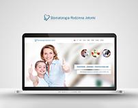 Stomatologia Rodzinna Jelonki - Website & Business card