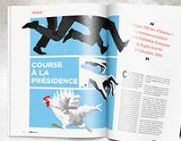 Illustrations magazine TECH XV