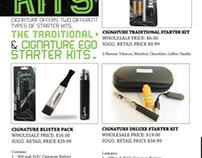Cignature Smoke Catalog