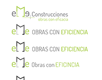 Diseño logotipo eMe construcciones