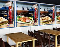Pepsi Restaurant Branding 2019