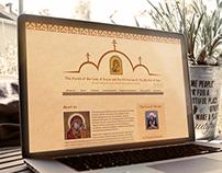Website creation for the Orthodox Parish