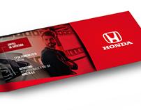 Invitación Honda Autos