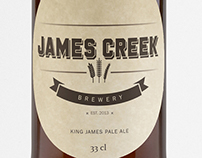 James Creek // logo design // branding