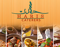 Banner For Haris Catering