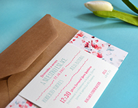 Wedding invitation - Bondi Spring -