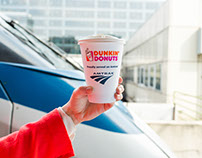 Dunkin' Donuts Hot Coffee Now Available On Board Amtrak