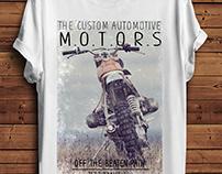 MENS MOTORS GRAPHIC TEES