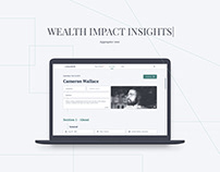 Wealth Impact Insights - Curator