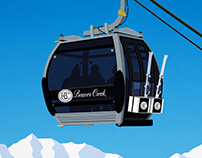 Beaver Creek Ski Resort Poster