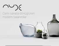 Nude Glass Web Site Tasarımı