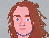 """Quick Portraits"" #AryaStark #GamesOfThrones"