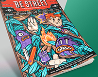 BE STREET l Cover illustration