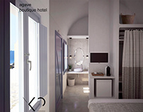 agave boutique hotel_ 3d visualization