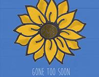 "Julius Tunstall ""Gone Too Soon"" Cover Art"