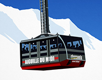 Aiguille Du Midi Cable Car