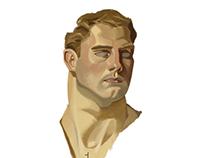 A man without fear | J.C. Leyendecker