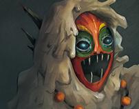 Mud Man Character Design