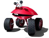 RobotsLab Logo Re-Design and Mascot