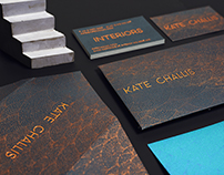 Kate Challis Interiors - Identity