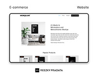 Monolium Store Web Design