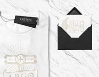 OLYMPE Clothing | branding