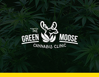 Logo for a cannabis clinic.