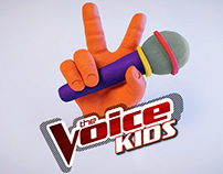 Logo The Voice Kids-Vinheta  Dezembro 2016