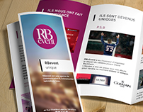RB event realization media print for the agency