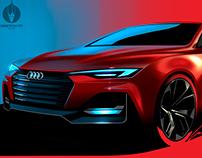 Audi Free Sketch