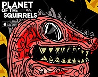 PLANET of the SQUIRRELS the app!