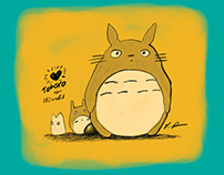 Love Totoro & Friends