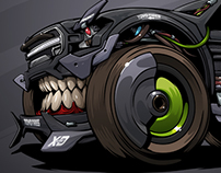 Kyle LeDuck's robotic #BeastedUp No.1