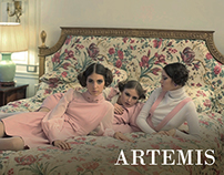 SANTIAGO ARTEMIS FW 15 VALLEY OF THE DOLLS AD CAMPAIGN